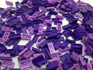 LEGO-AMICI-100-Purple-PEZZI-PUNTE-CONO-Piatto-pin