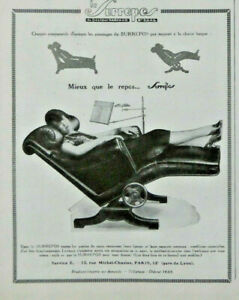 Advertising press 1929 the surrepos better than the rest chair mobile