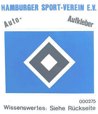 Auto-Aufkleber RARITÄT BVB 12 x 10 cm HSV Hamburg TOP