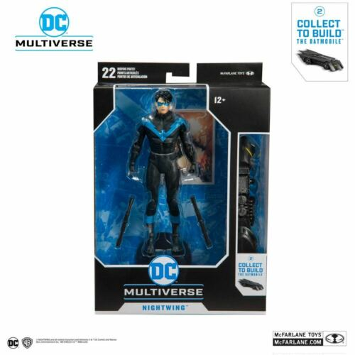 Brand New UK DC Rebirth Build A Action Figure Nightwing Better Than Batman