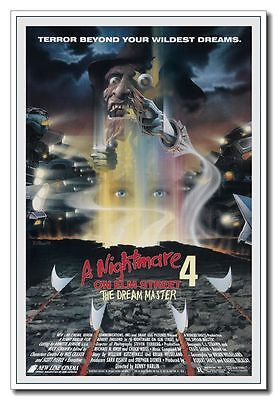 "Freddy/'s Dead The Last Nightmare 24/""x36/"" Old Horror Movie Silk Poster"