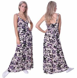 Long-Summer-Dress-Holiday-Resort-Maxi-Empire-Style-Super-Light-with-Stretch