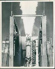 1971 Testing Solid Motors of Minuteman Program Official US Air Force Photo