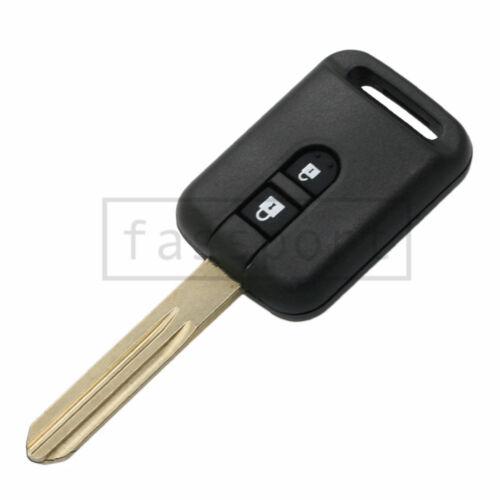 BTN Pad fit for NISSAN Micra K12 Qashqai Navara Almera 515A 2B Remote Key Shell
