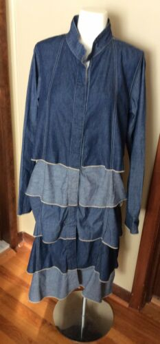 Cynthia Ashby Denim Dress / Duster