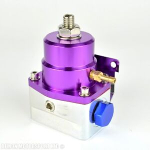 Fuel-Pressure-Regulator-Adjustable-100-psi-1-1-Rising-Rate-7-bar-Purple-EFI