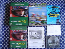 PC CD-ROM: Grand Prix 2 - sehr gut !! Microprose F1 Simulation - Geoff Crammond