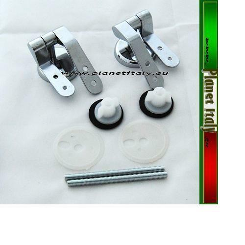Hinges for cover water wc steel spare