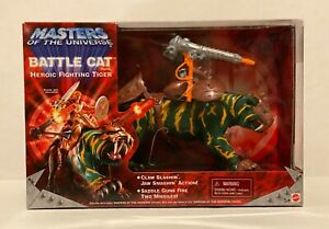 MOTU, BATTLECAT BOXED, MASTERS OF THE UNIVERSE HE-MAN 2001