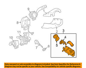 Phenomenal Mazda Oem 09 10 6 Steering Column Steering Column Lock Gs3M6615Xd Ebay Wiring Cloud Rectuggs Outletorg