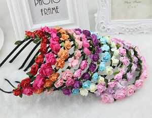 New-Arrival-Boho-Style-Floral-Flower-Women-Hairband-Headband-Party-Wedding