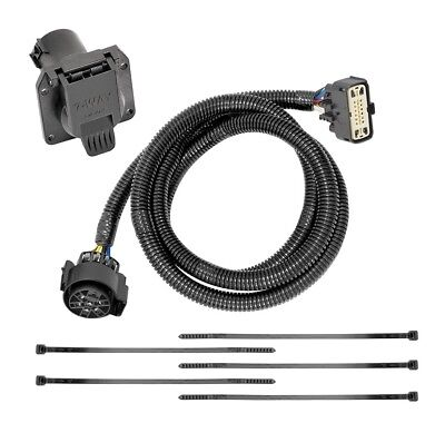 7-way rv trailer wiring harness kit for 18-19 buick enclave 18-20 chevy  traverse   ebay  ebay
