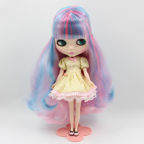 "Takara 12/"" Neo Blythe Mix Hair Nude Doll from Factory TBY48"