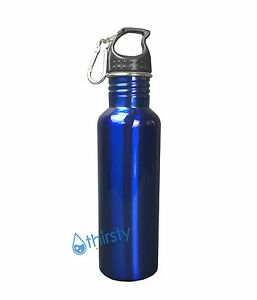 Stainless Steel Mug Silver Container Water Bottle BPA Free Thermos Canteen 16 oz