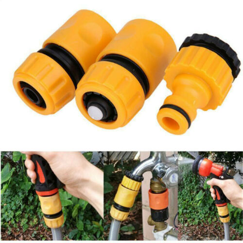 Garden Water Hose Pipe Tap Connector Compatible Nozzle Adapter Fitting