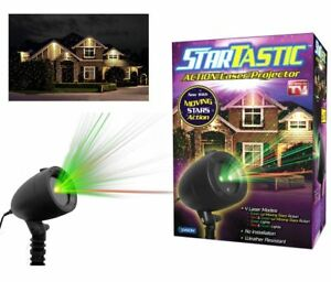Startastic-Motion-Holiday-Light-Show-The-As-Seen-on-TV-Laser-Light-Projector-NEW