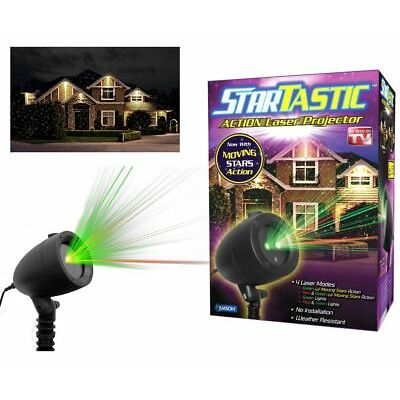 Startastic Motion Holiday Light Show The As Seen on TV Laser Light Projector NEW