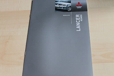 137466) Mitsubishi Lancer Kombi - Farben & Ausstattungen & Tech. Daten - Prospek