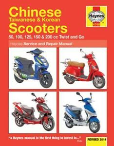 haynes 4768 chinese taiwanese korean scooter workshop service manual rh ebay com Customer Service Books Owner's Manual