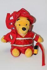 Disney Winnie The Pooh Fireman Plush Toy