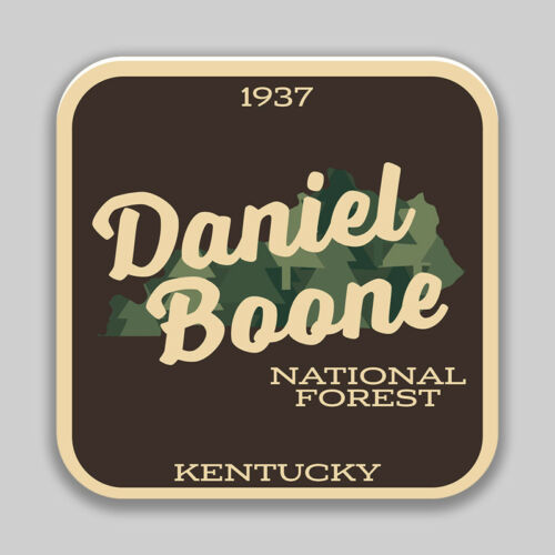 Daniel Boone National Forest Decal Sticker Explore Wanderlust Camping Hiking