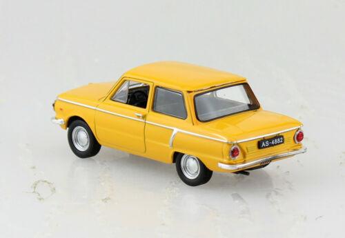 ZAZ 966 naranja blister 1:43 Altaya maqueta de coche