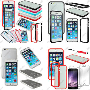 Housse-Coque-Etui-Bumper-Contour-Protection-Apple-Serie-iPhone-6-Plus-5-5S-4-4S