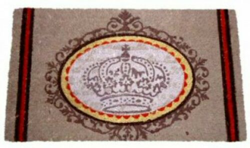70x40cm De Luxe Vintage Retro Style Poster Fußmatte Türmatte Kronen #76145