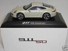 Porsche 911 50th Anniversary 50 Jahre Porsche 911 Welly 1:43 Museum Edition neu