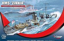 HMS ZINNIA (K-98) WW II EARLY FLOWER CLASS CORVETTE 1/350 MIRAGE