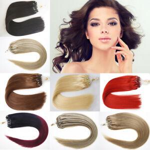 100-Remy-Extensions-de-cheveux-Loop-Micro-anneaux-perles-LIEN-Cheveux-1-G-S-7A