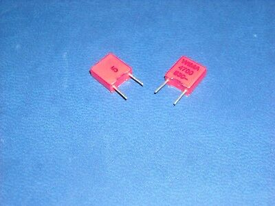 4700PF 4.7nF 400V 5/% pitch:5mm Capacitor 10pcs WIMA FKS2 4700P
