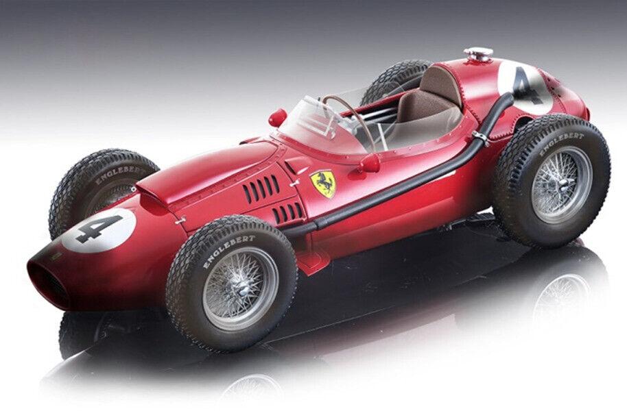 Ferrari Dino 246  4 vainqueur F1 France 1958 (après course) 1 18 TECNOMODEL TM18-153A