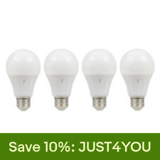 SYLVANIA Smart Home On/Off/Dimmable 60W A19 LED Light Bulb, Soft White (4 Pack)