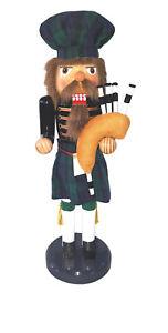 "The Holiday Aisle 14"" Irish Bagpiper Nutcracker"