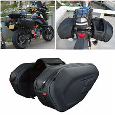 Motorcycle Pannier Bags Luggage Saddle Bags with Rain Cover 36-58L For Honda