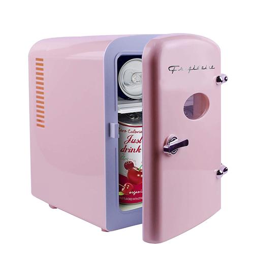 Frigidaire Retro Mini Efmis129 Mini Refrigerator Pink For Sale Online Ebay