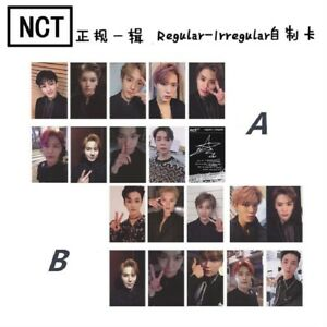 2019-Kpop-NCT-NCT127-Regular-Irregular-Photo-Cards-New-Album-Autograph-Photocard