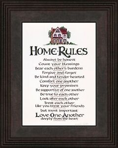 Wedding Gift Rules : Home-Rules-Motivational-Scripture-for-Family-Values-Wedding-or ...