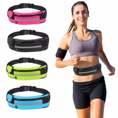Men Women Fitness Sport Runner Waist Bag Jogging Running Belt Pouch Phone Holder