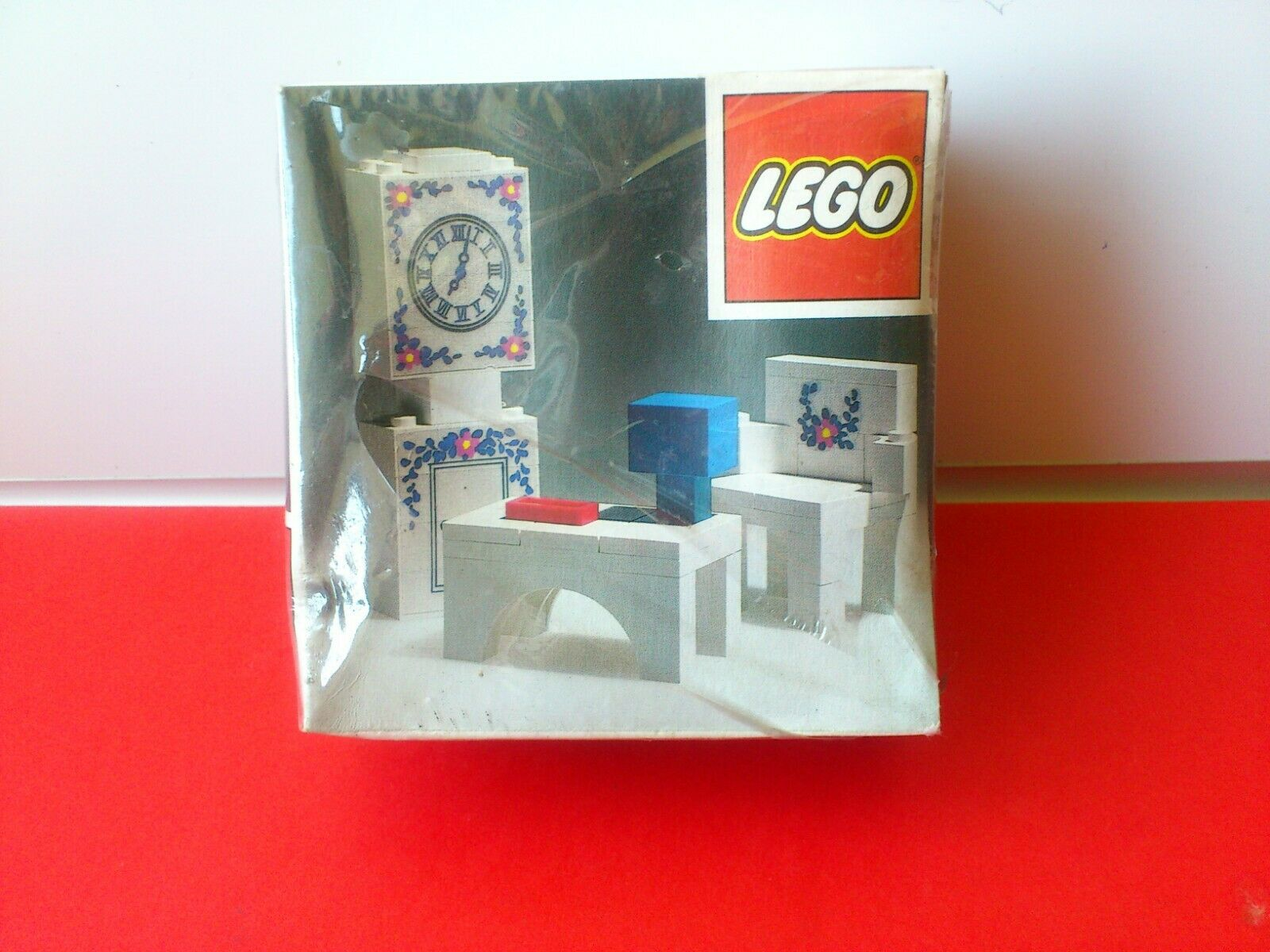 Jahr Lego set No.270 .Clock.Meerled in original shrink wrap. From 1972. Rare.