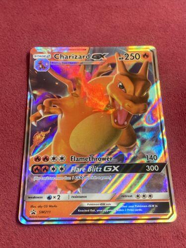 Pokemon Charizard GX Black Star Promo Hidden Fates NM SM211