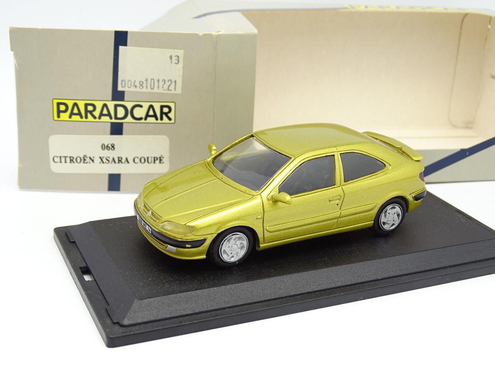 Paradcar Résine 1 43 - Citroen Xsara Coupé 3 Portes giallo