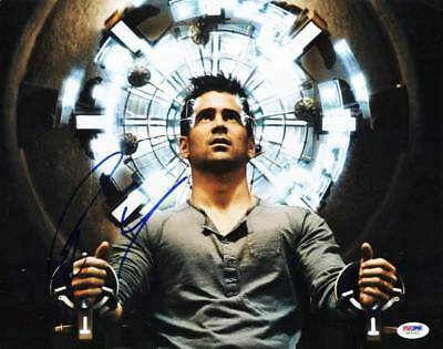 Colin Farrell Total Recall Signed Authentic 11x14 Photo Psa/dna #v67163 Movies