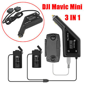 Battery-Car-Charger-USB-Controller-Charging-Dock-for-DJI-Mavic-Mini-Drone