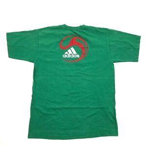 Details zu Adidas We Are Fußball Hemd Mexico Somos Futbol Grün Kurzarm Athleiusure T