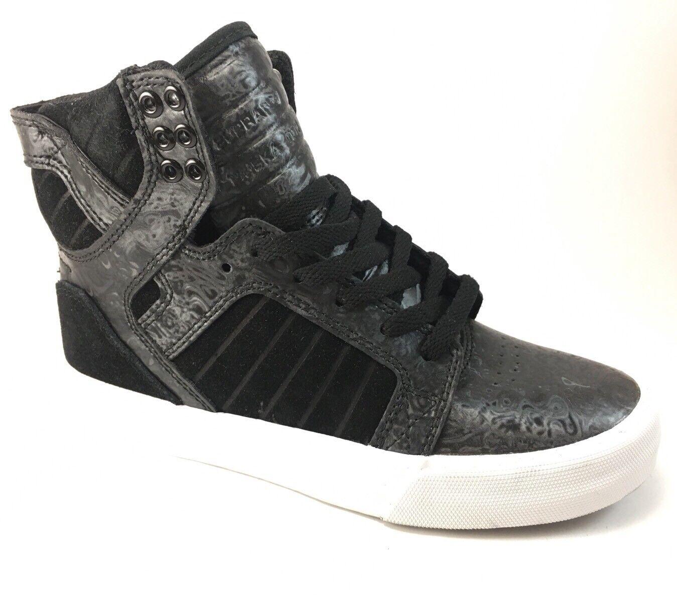 Supra Skytop nero Oil Slick High scarpe da  ginnastica scarpe donna 65533;s Dimensione 5.5 B  nuovo di marca