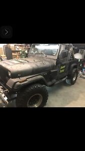 YJ Jeep Swamp Thing