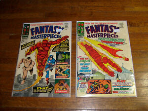 FANTASY-MASTERPIECES-7-amp-11-VERYGOOD-1960s-MARVEL-GOLDEN-AGE-REPRINTS