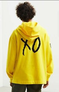 36afe4d6 Details about Puma X The Weeknd XO Men's Oversized Hoodie Cyber Yellow  Oversized Size L